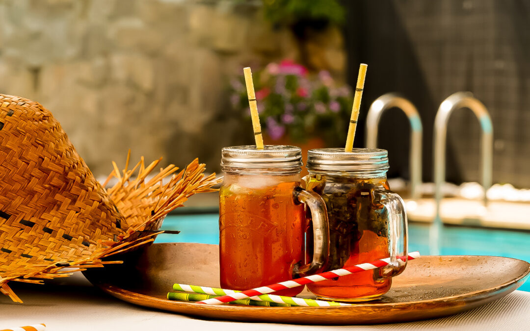 Ice tea e Infusión de frutas